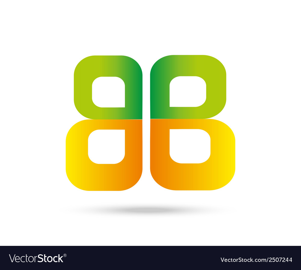 Letter b logo symbol vector | Price: 1 Credit (USD $1)