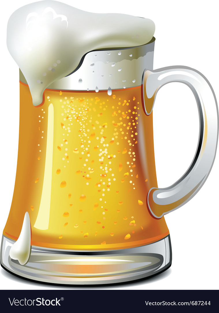 Mug of beer vector | Price: 3 Credit (USD $3)