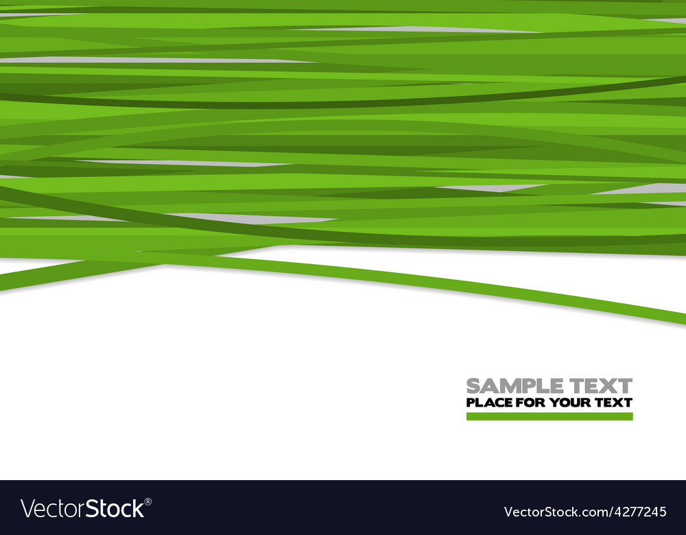 Green stripes vector | Price: 1 Credit (USD $1)