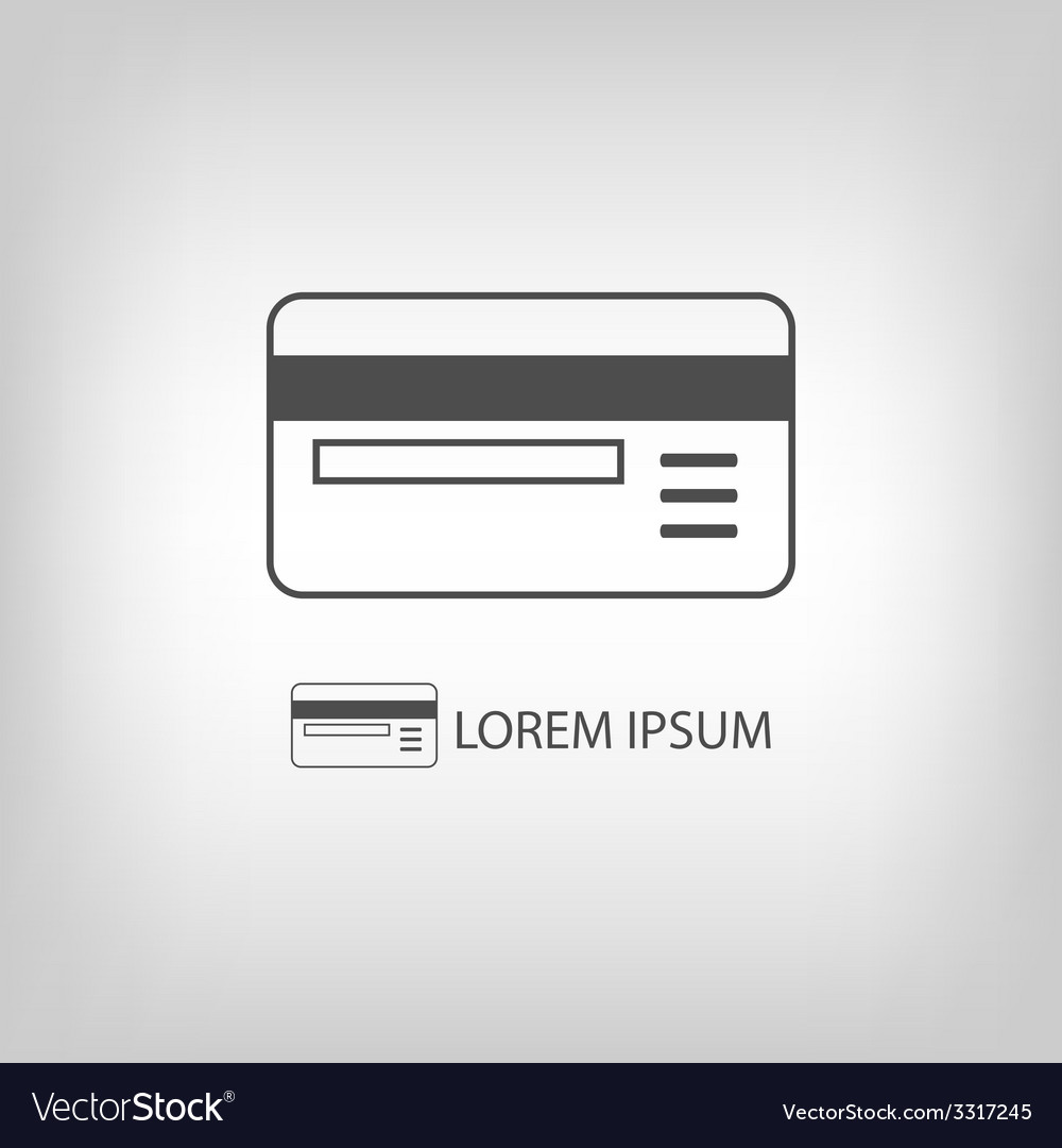 Grey plastic card vector | Price: 1 Credit (USD $1)