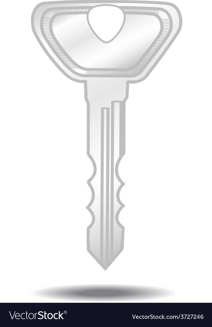 Key isolated vector | Price: 1 Credit (USD $1)