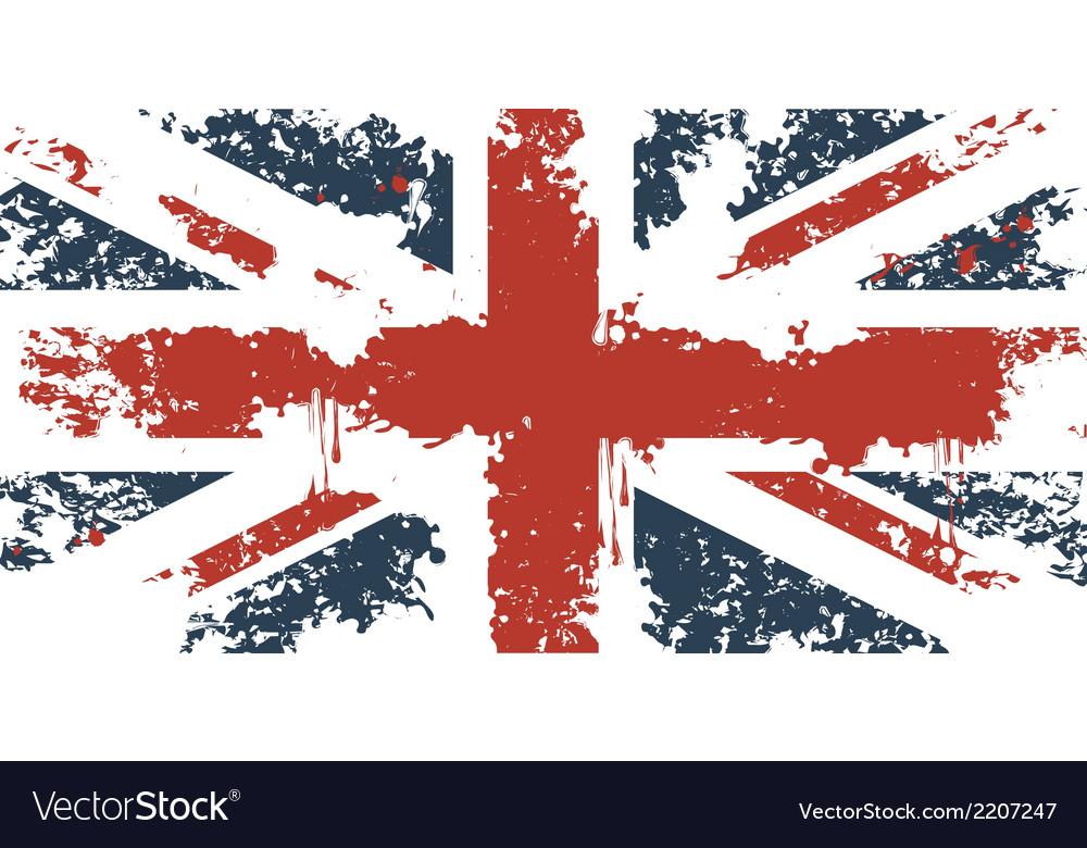 British flag 001 vector | Price: 1 Credit (USD $1)