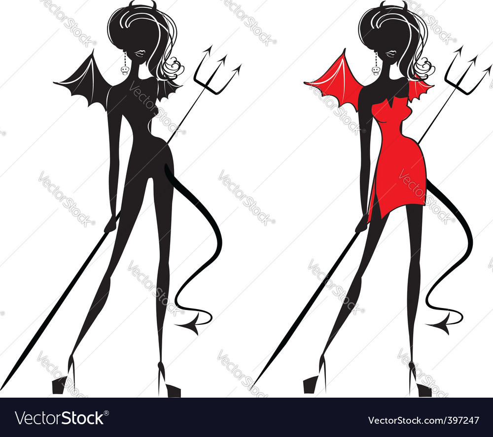 Halloween woman vector | Price: 1 Credit (USD $1)