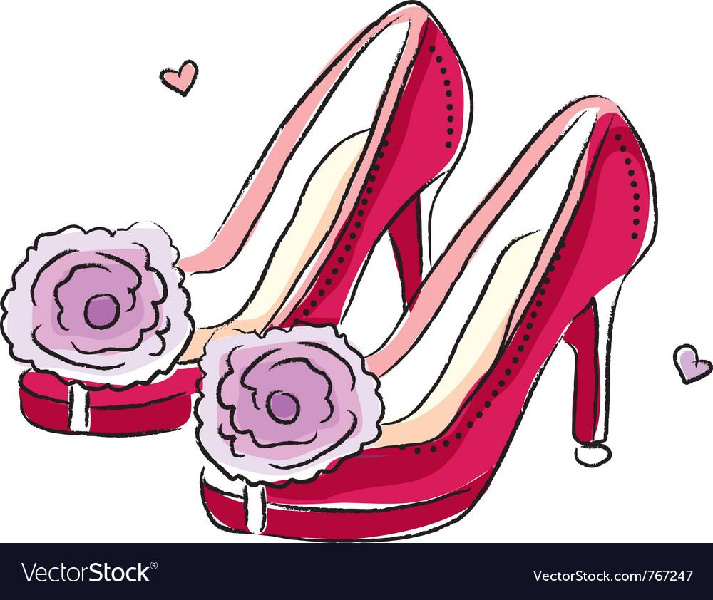 High heel shoes vector   Price: 1 Credit (USD $1)