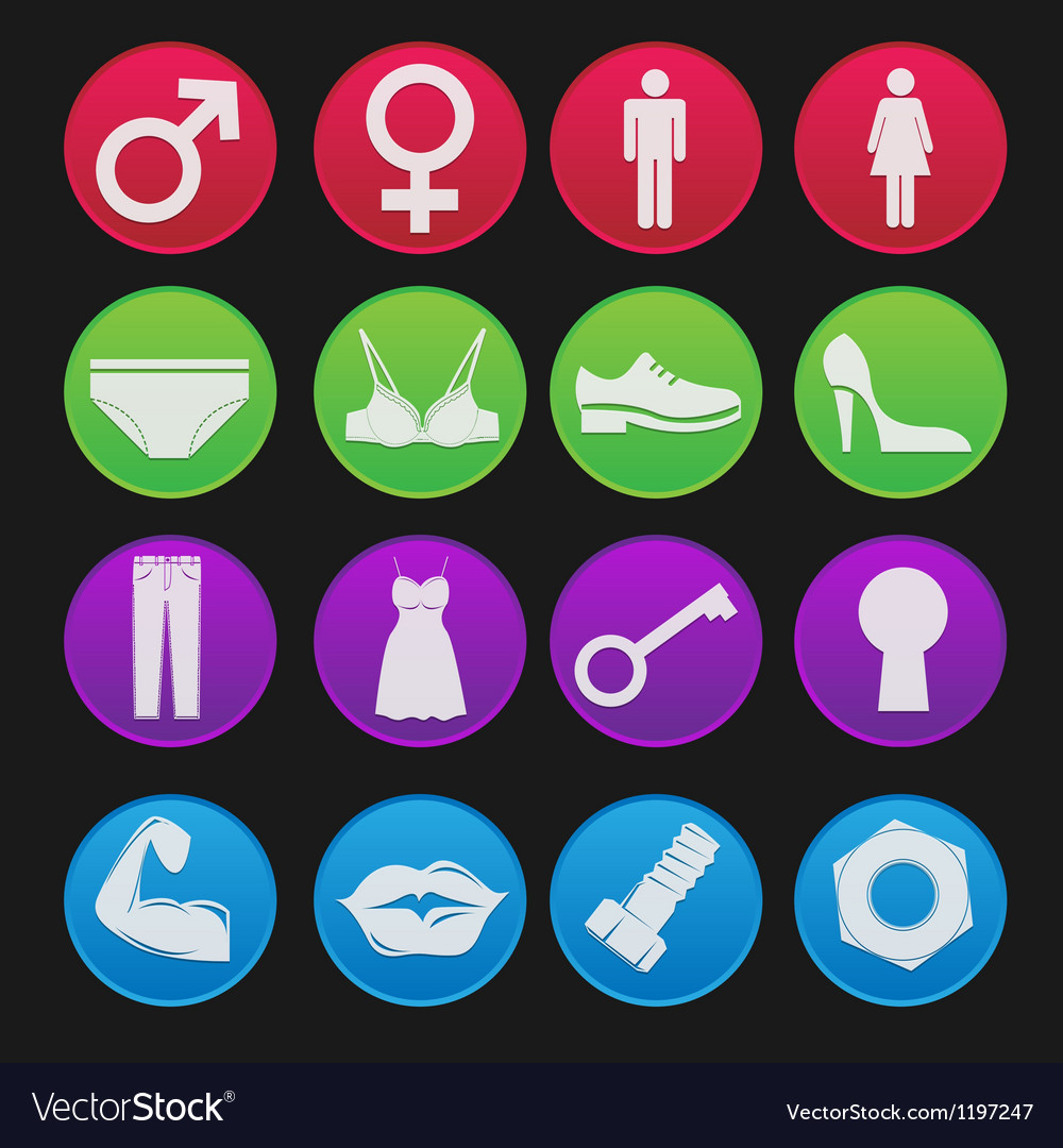 Toilet sign icon gradient style vector | Price: 1 Credit (USD $1)