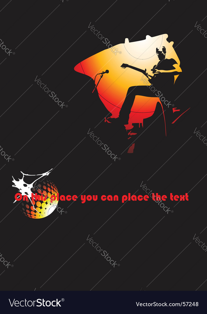 Band poster vector | Price: 1 Credit (USD $1)