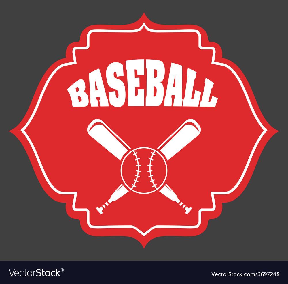 Baseball game vector | Price: 1 Credit (USD $1)