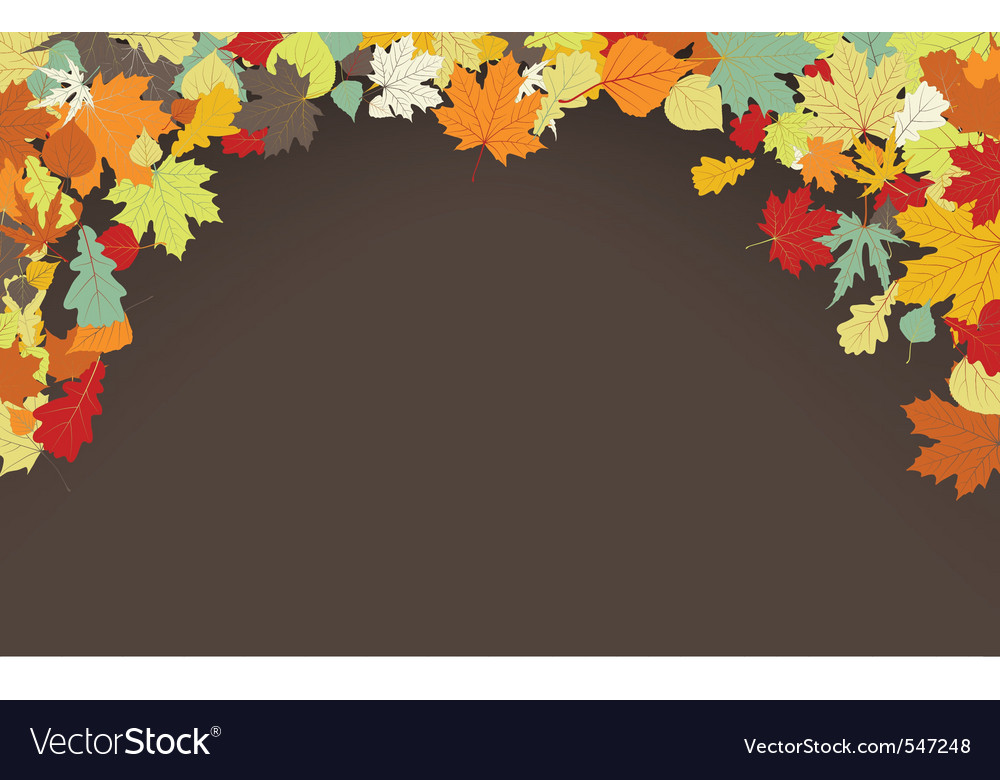 Brown autumnal background vector | Price: 1 Credit (USD $1)