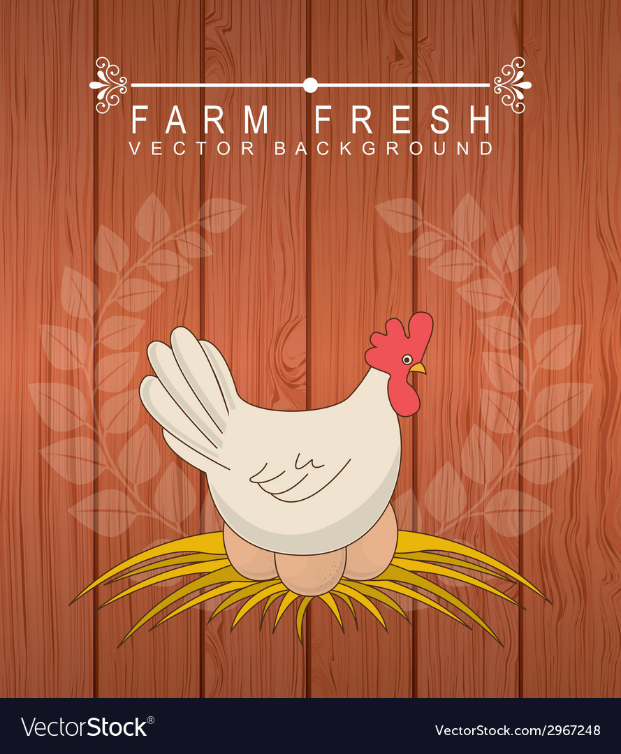 Farm fresh design vector | Price: 1 Credit (USD $1)