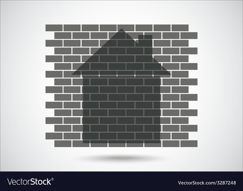 House abstract real estate vector | Price: 1 Credit (USD $1)