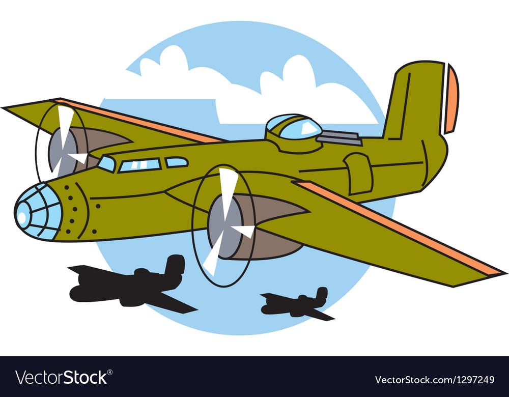 Bomber plane vector   Price: 1 Credit (USD $1)