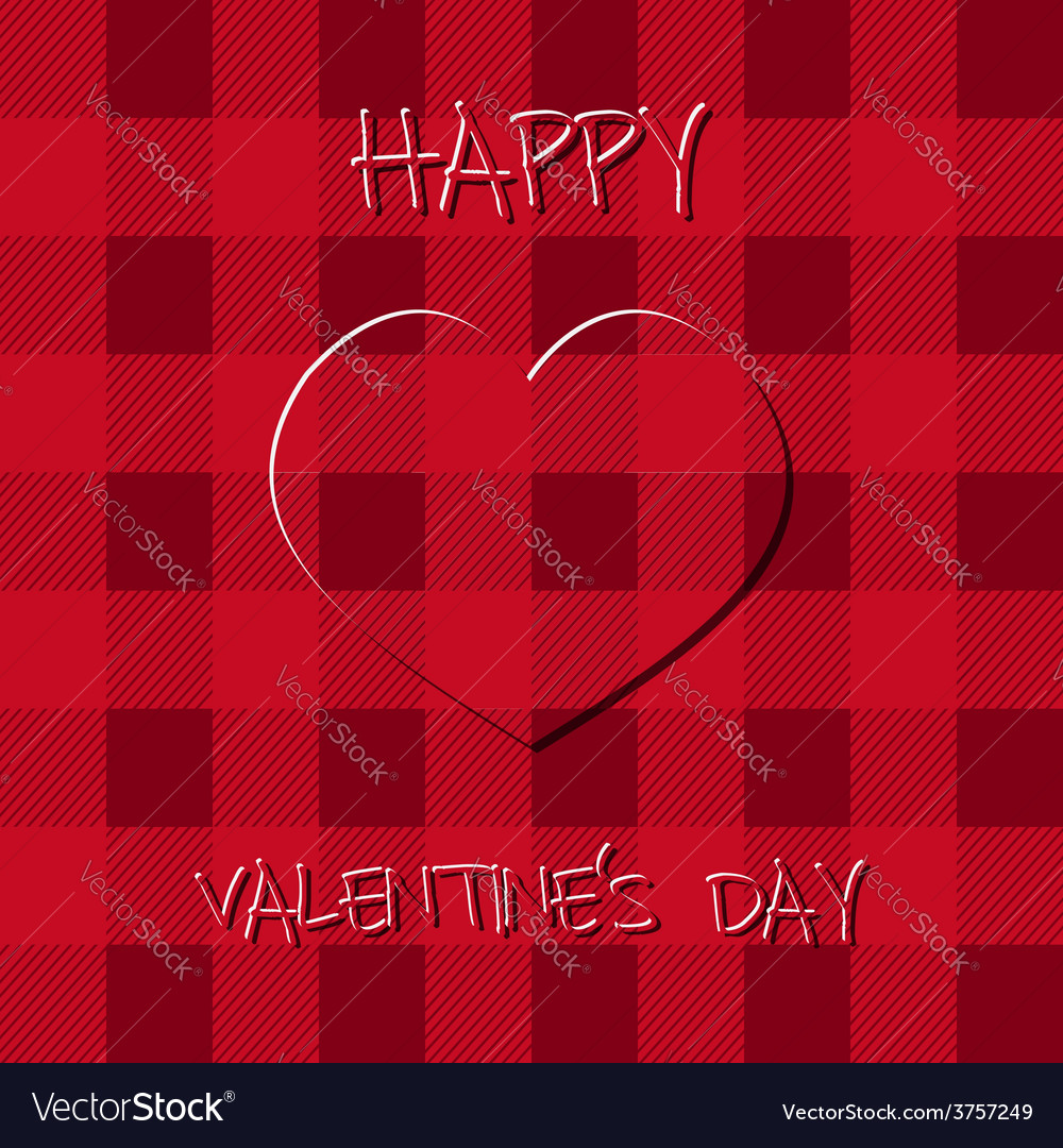 Bright valentine s day background poster and card vector | Price: 1 Credit (USD $1)