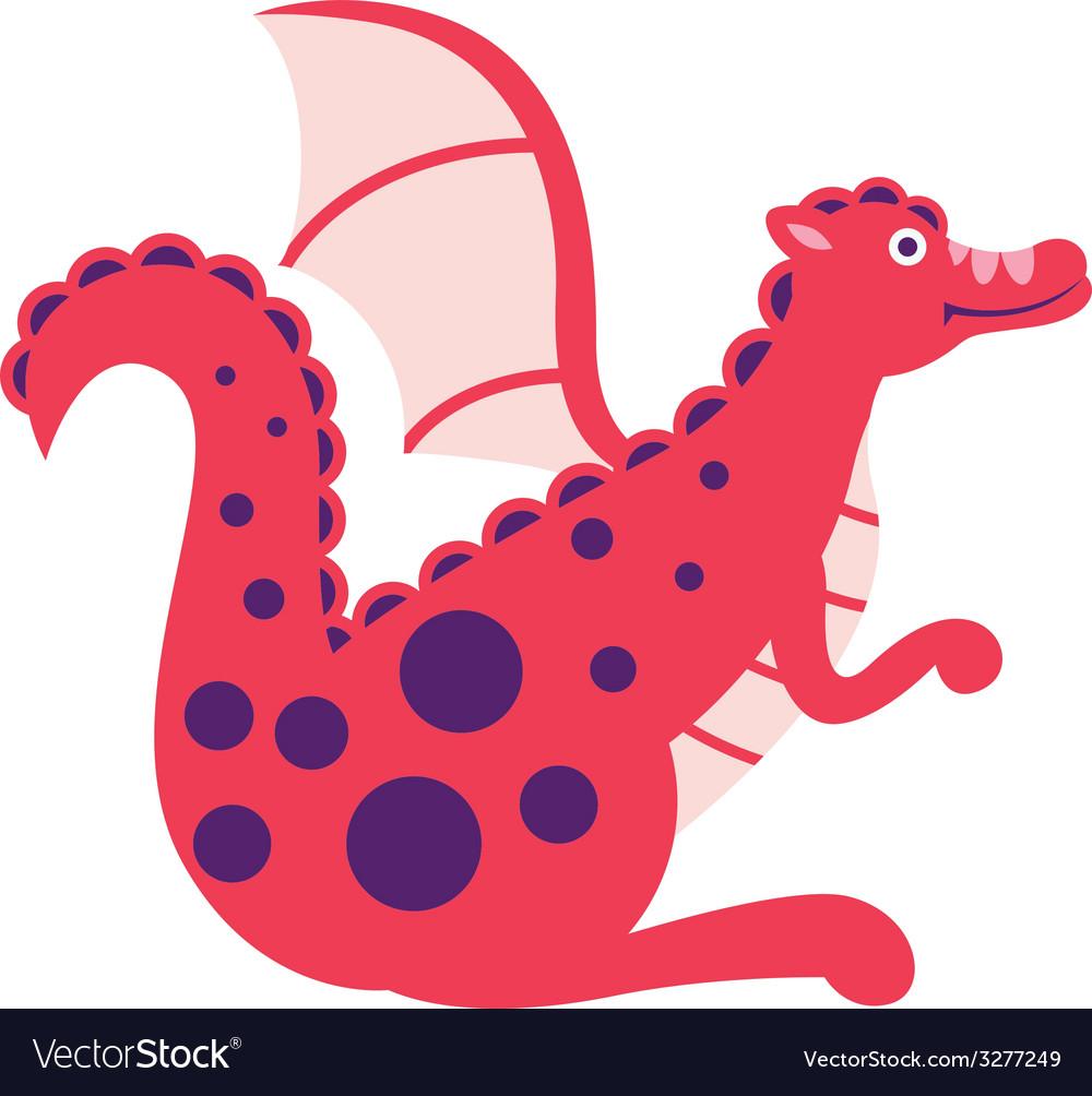 Cute dragon vector | Price: 1 Credit (USD $1)
