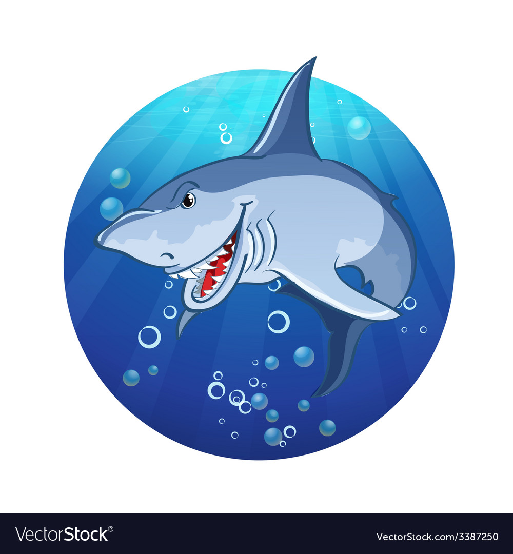 An evil shark vector   Price: 1 Credit (USD $1)