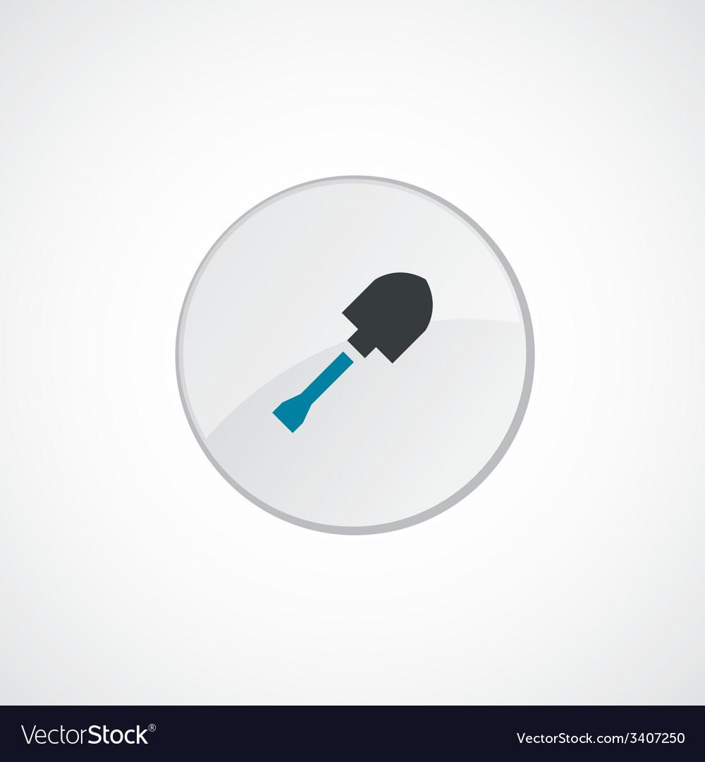 Shovel icon 2 colored vector | Price: 1 Credit (USD $1)