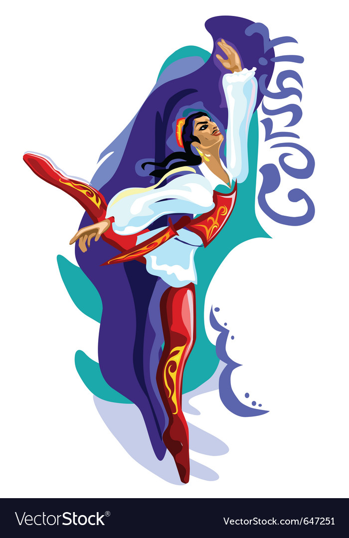Ballet dancer - corsair vector | Price: 1 Credit (USD $1)