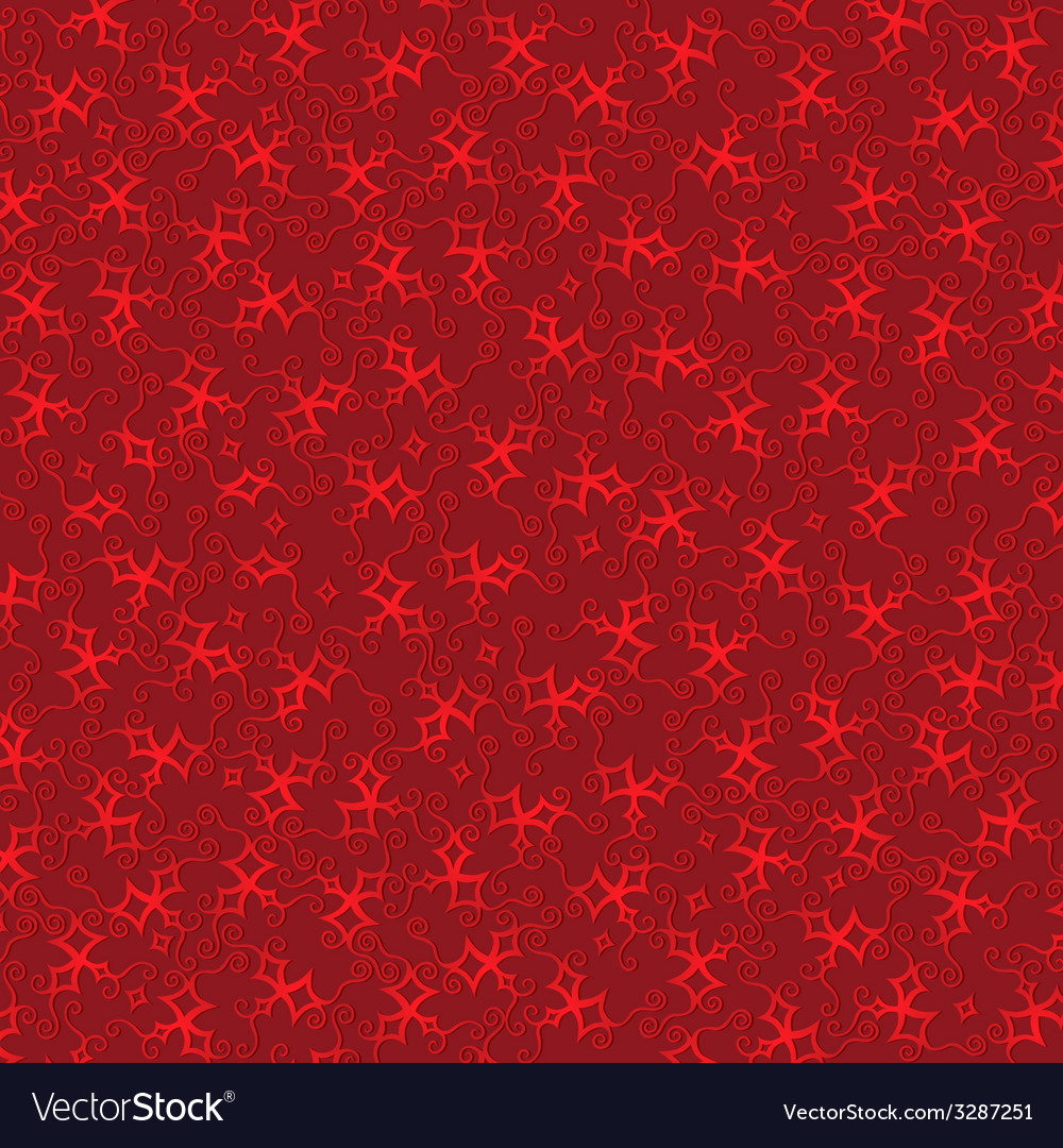 Burgundy background with red stars vector | Price: 1 Credit (USD $1)