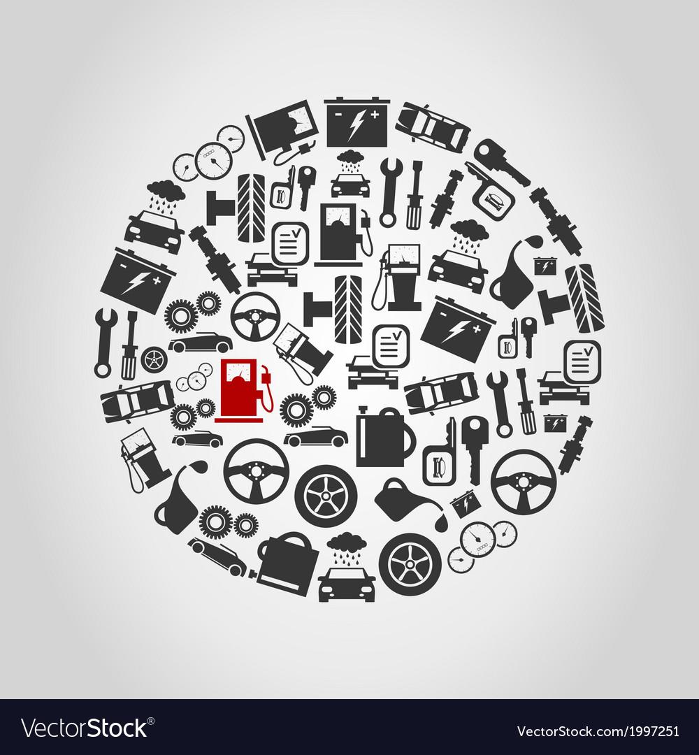 Car circle vector   Price: 1 Credit (USD $1)