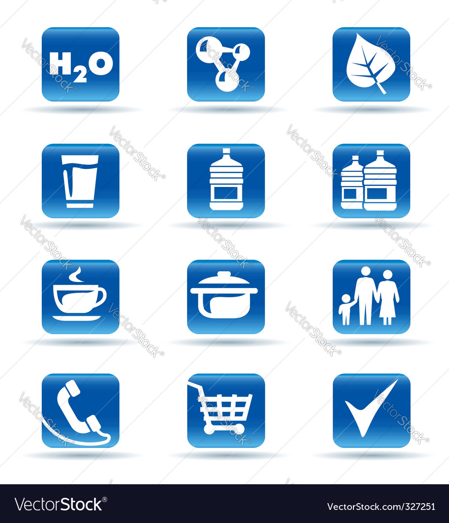 Icons kitchen shop food drink vector | Price: 1 Credit (USD $1)