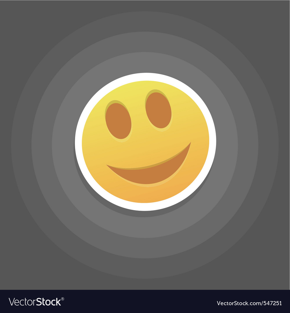 Smile emotion vector | Price: 1 Credit (USD $1)