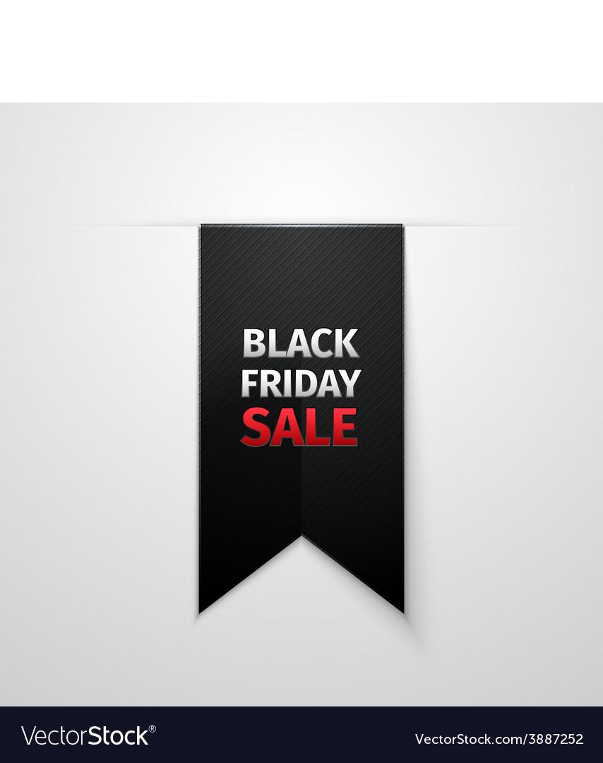 Black friday sales tag eps 10 vector | Price: 1 Credit (USD $1)