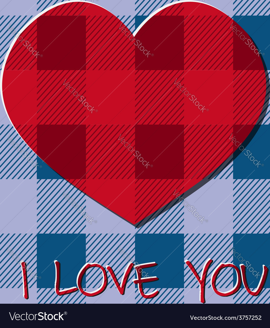 Bright 2015 valentine s day card hipster design vector | Price: 1 Credit (USD $1)