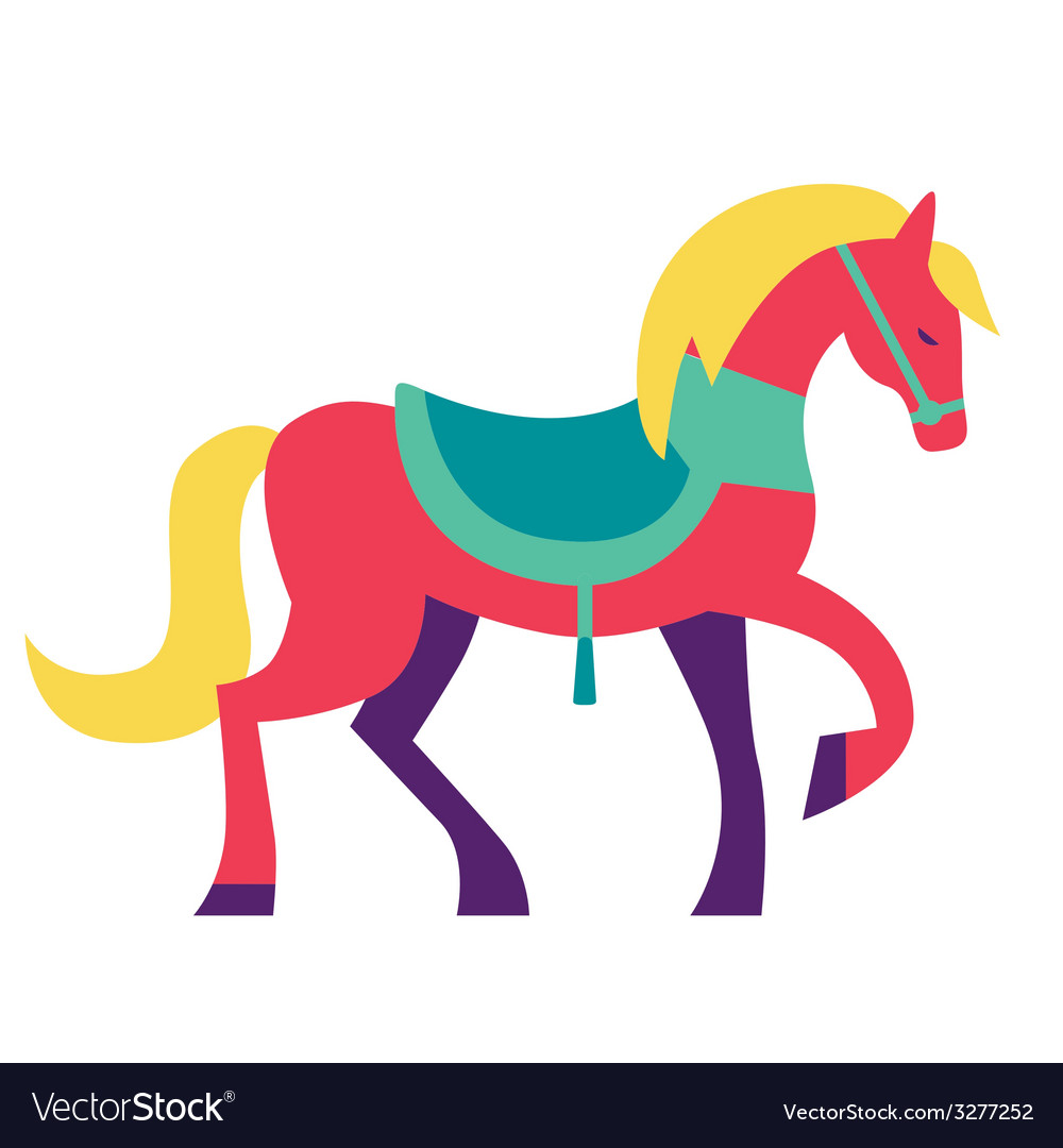 Fantasy horse vector | Price: 1 Credit (USD $1)