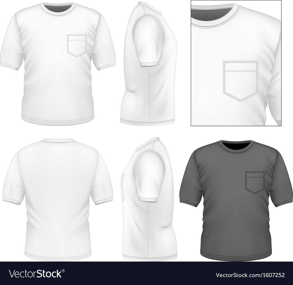 Mens t-shirt design template vector | Price: 1 Credit (USD $1)