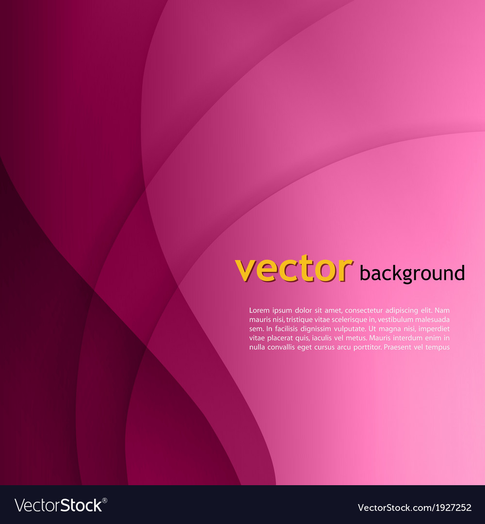 Purple smooth twist light lines background vector | Price: 1 Credit (USD $1)