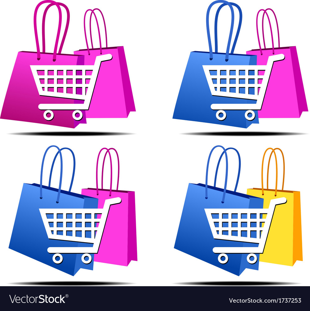Internet shopping icons vector | Price: 1 Credit (USD $1)