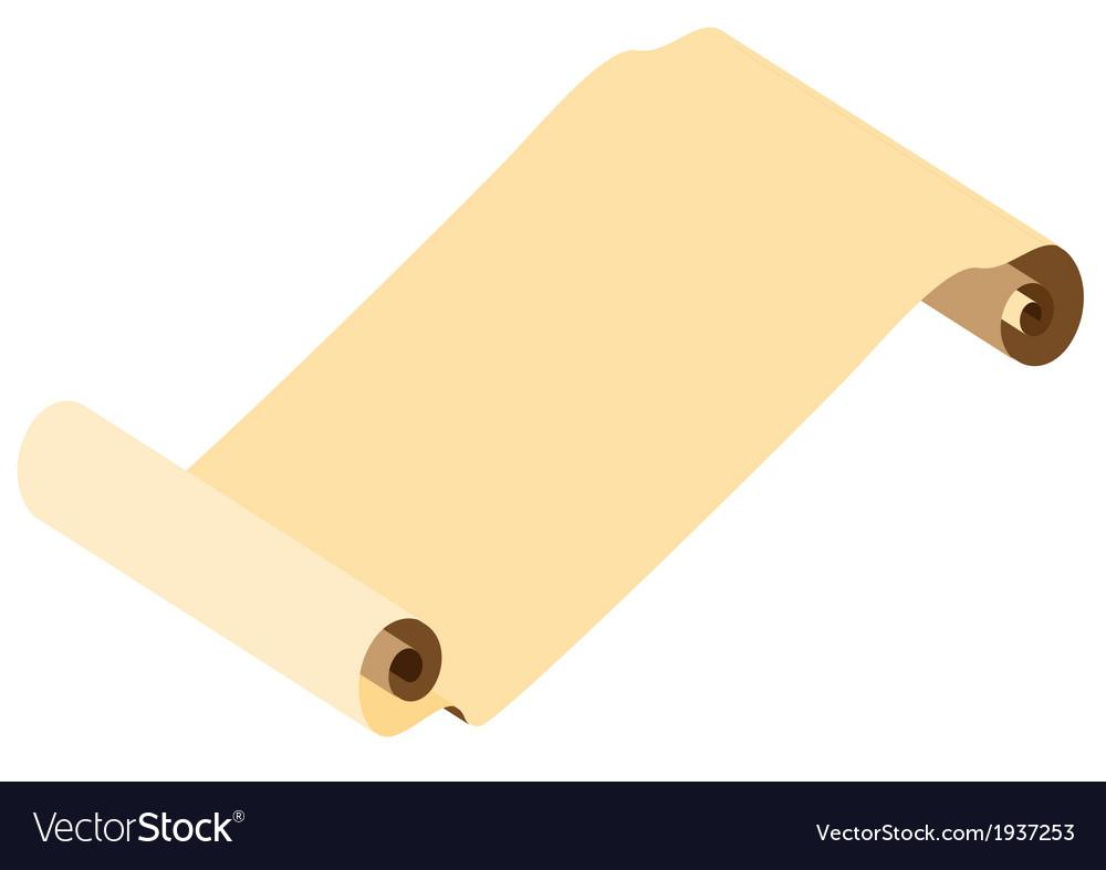 Parchment vector | Price: 1 Credit (USD $1)