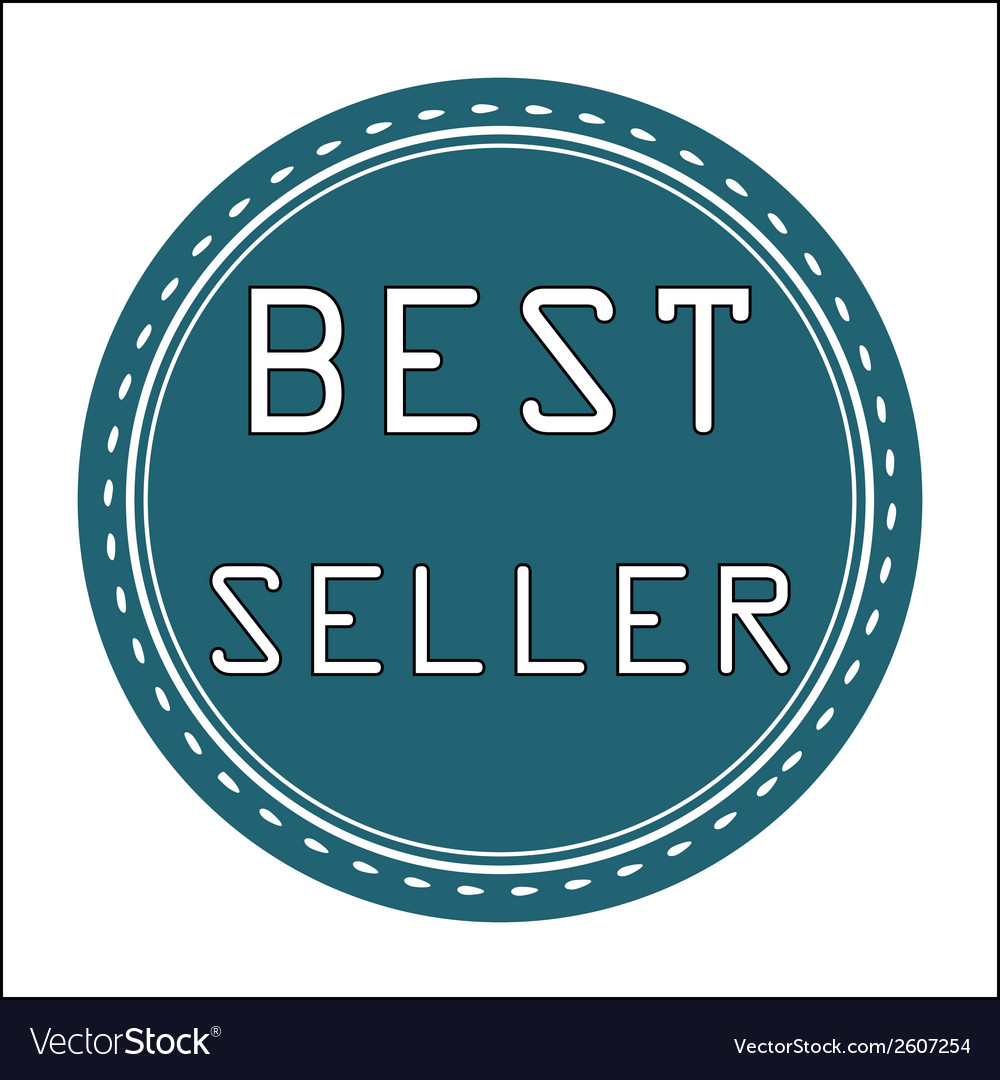 Best seller icon badge label or sticke vector | Price: 1 Credit (USD $1)