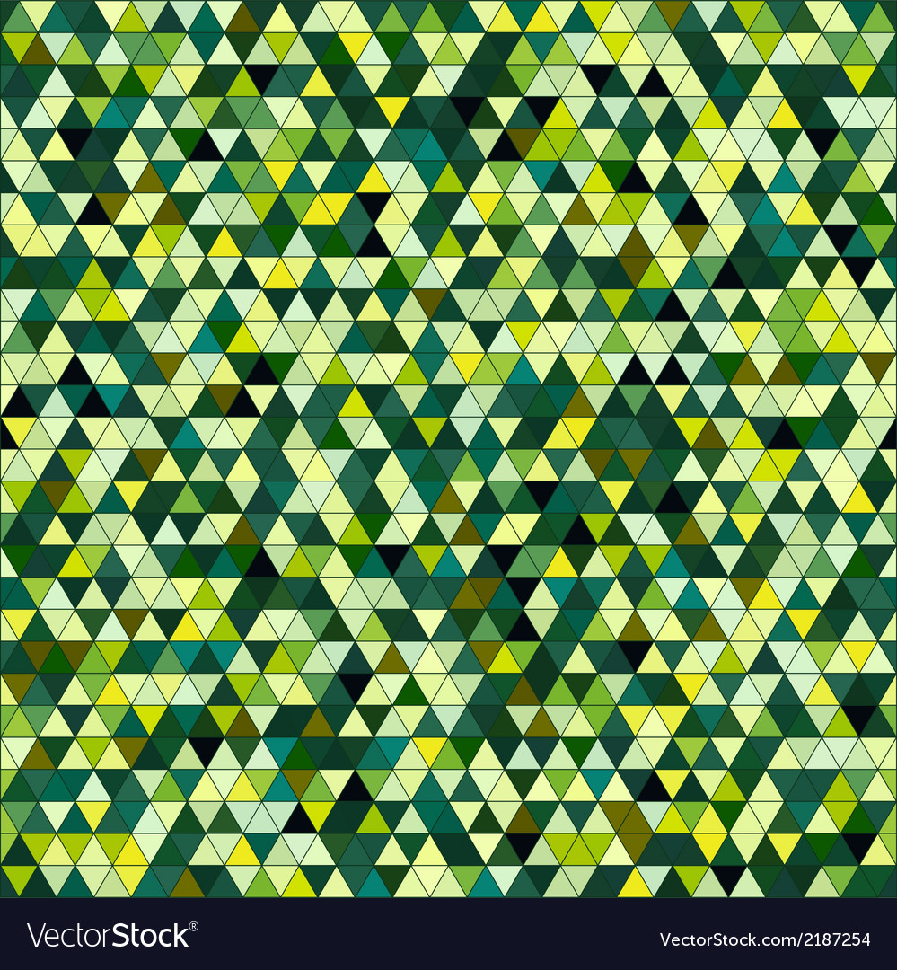 Colored triangle seamless pattern background vector | Price: 1 Credit (USD $1)