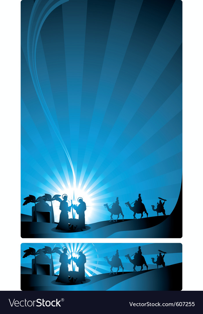 Three wise men vector | Price: 1 Credit (USD $1)
