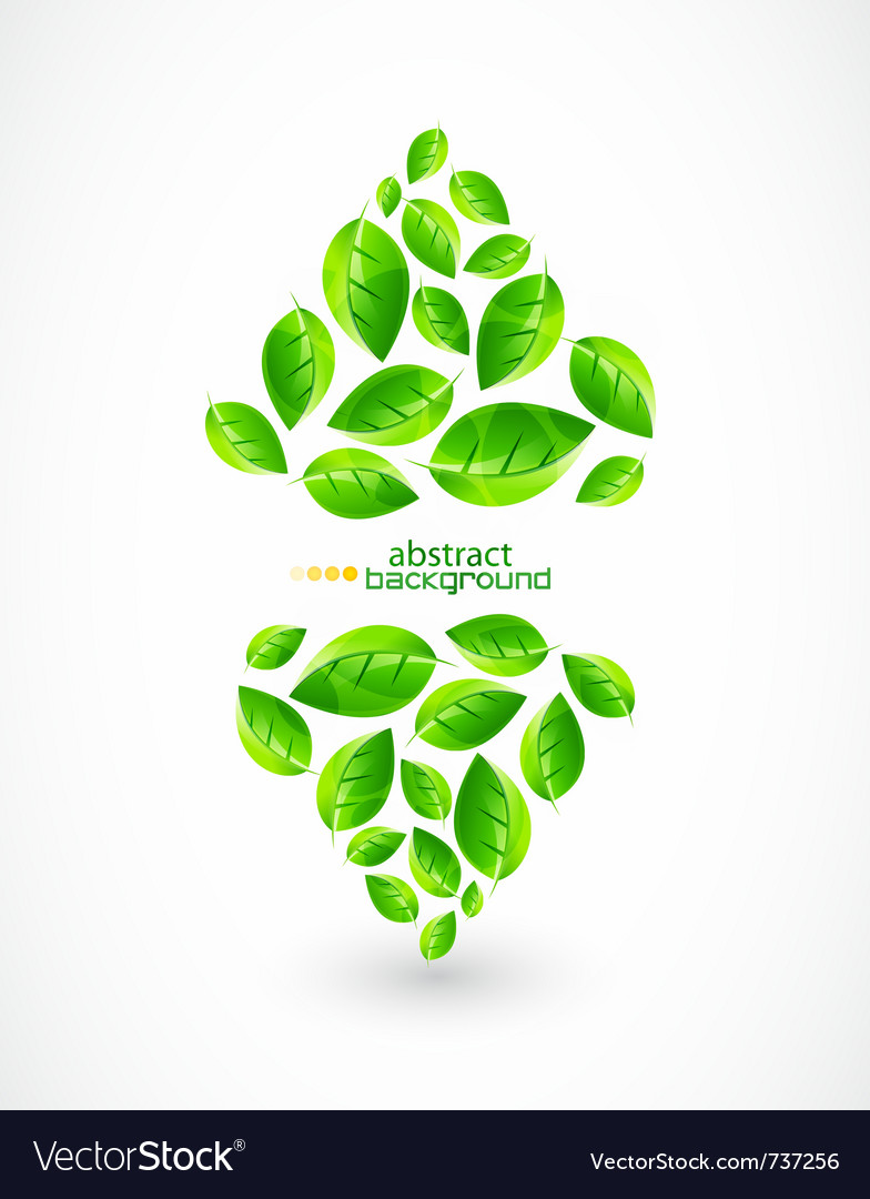 Nature green background vector | Price: 1 Credit (USD $1)
