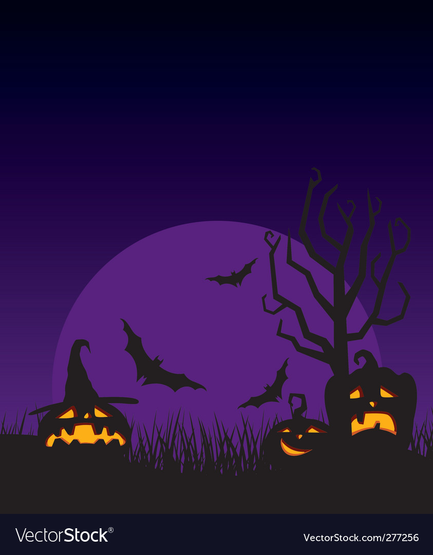 Night halloween vector   Price: 1 Credit (USD $1)