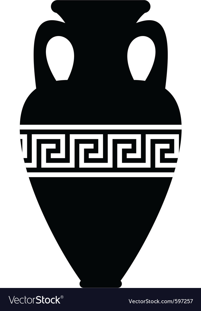 Ancient amphora vector | Price: 1 Credit (USD $1)