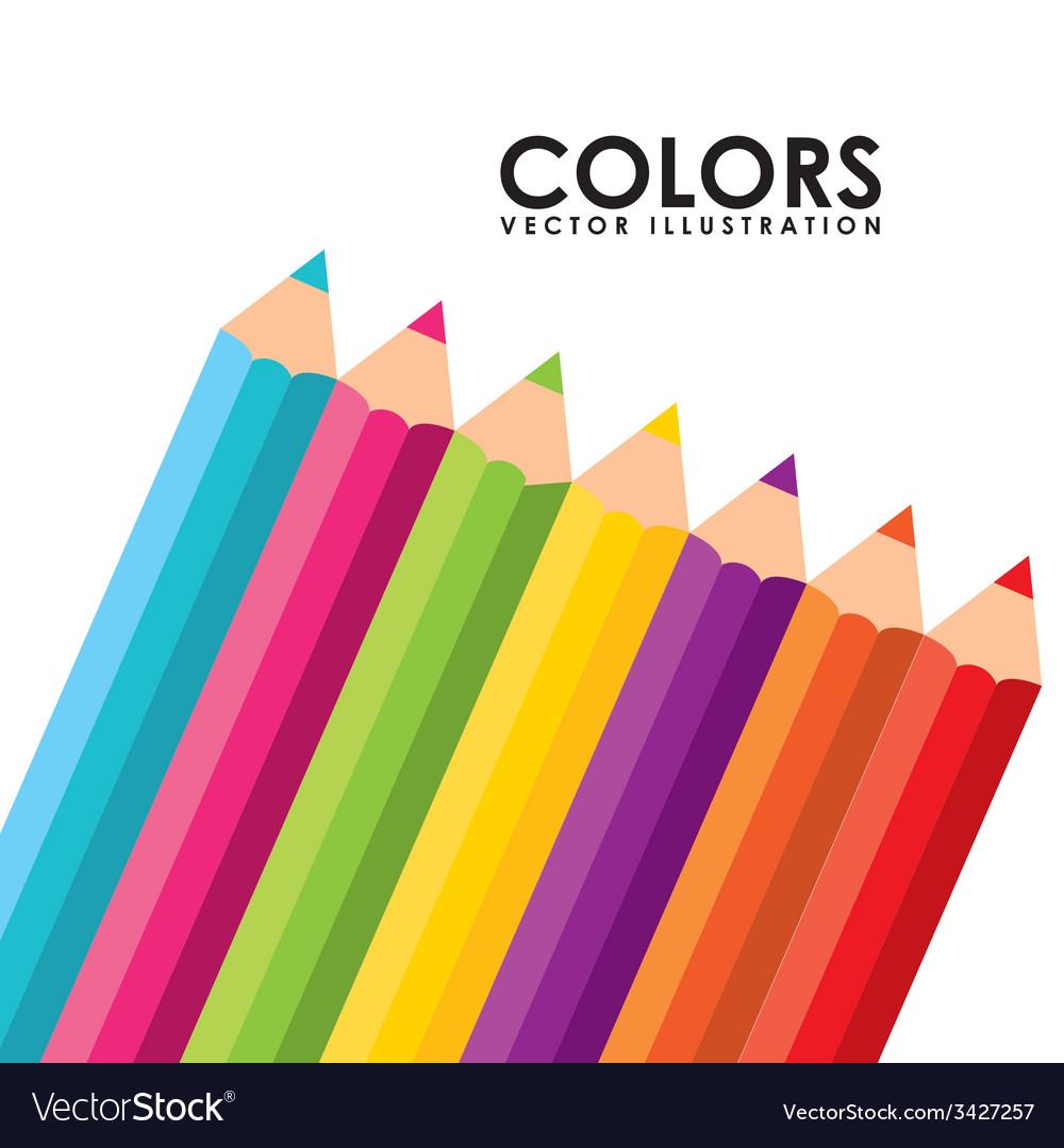 Markers design vector | Price: 1 Credit (USD $1)
