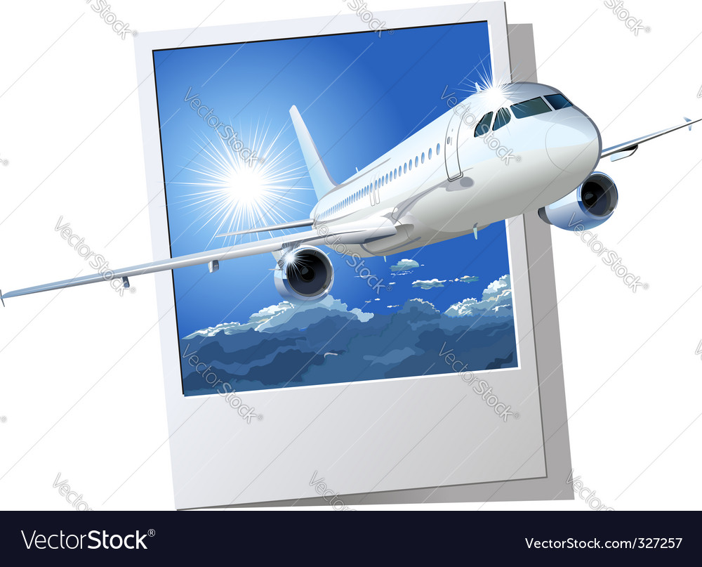 passenger airbus a320 vector | Price: 3 Credit (USD $3)