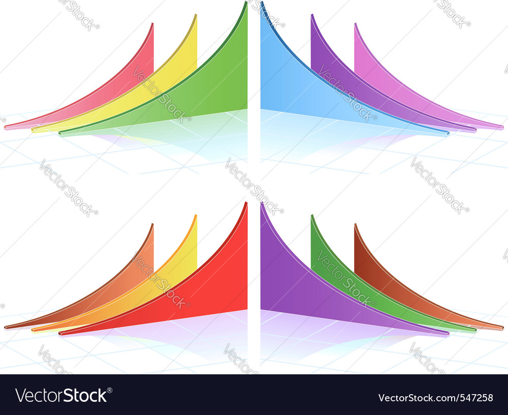 Business graphs vector   Price: 1 Credit (USD $1)