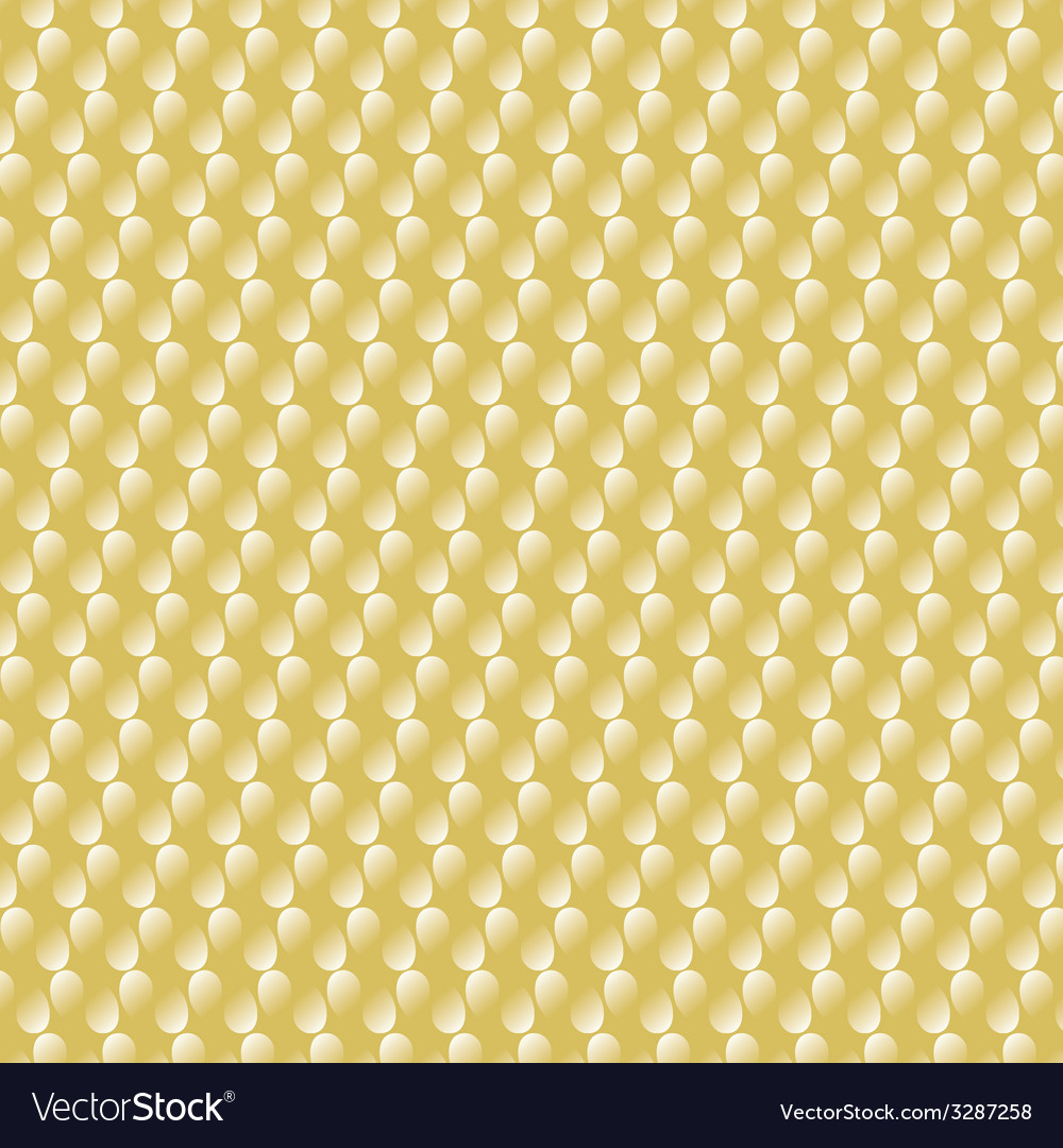 Gold metal background with white drops vector | Price: 1 Credit (USD $1)