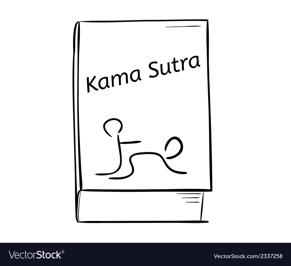 Kama sutra book vector | Price: 1 Credit (USD $1)