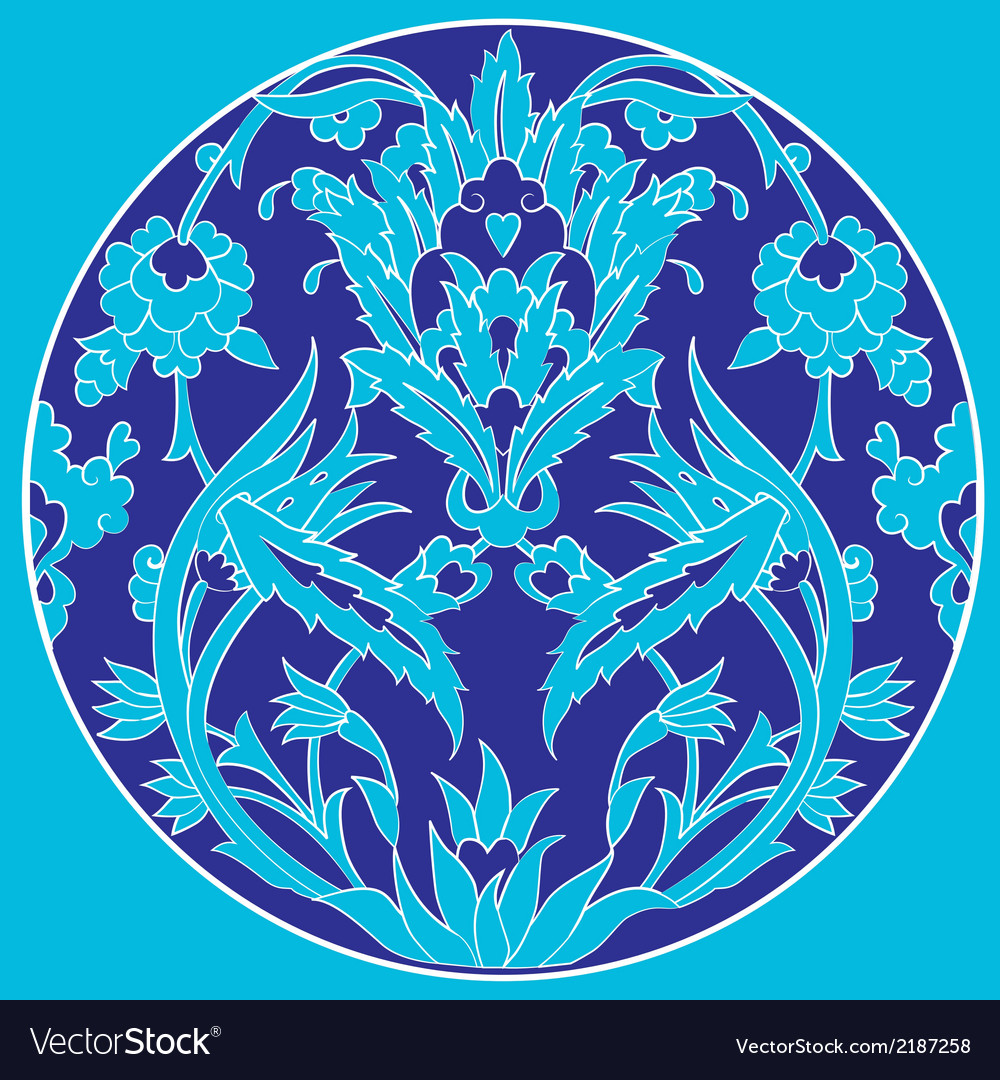 Ottoman motifs design series with twenty one vector | Price: 1 Credit (USD $1)