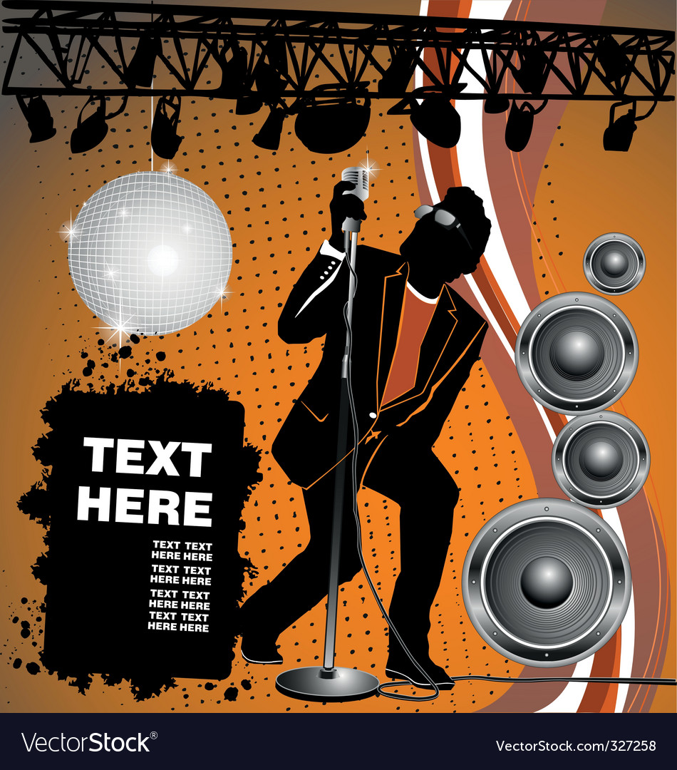 Rock and house party vector | Price: 1 Credit (USD $1)