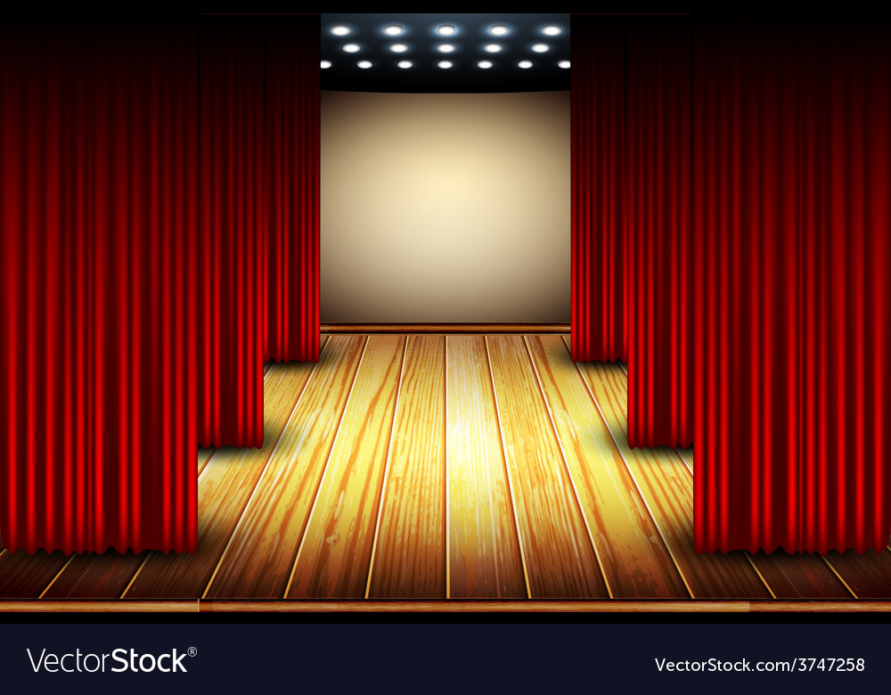 Theater stage vector | Price: 3 Credit (USD $3)