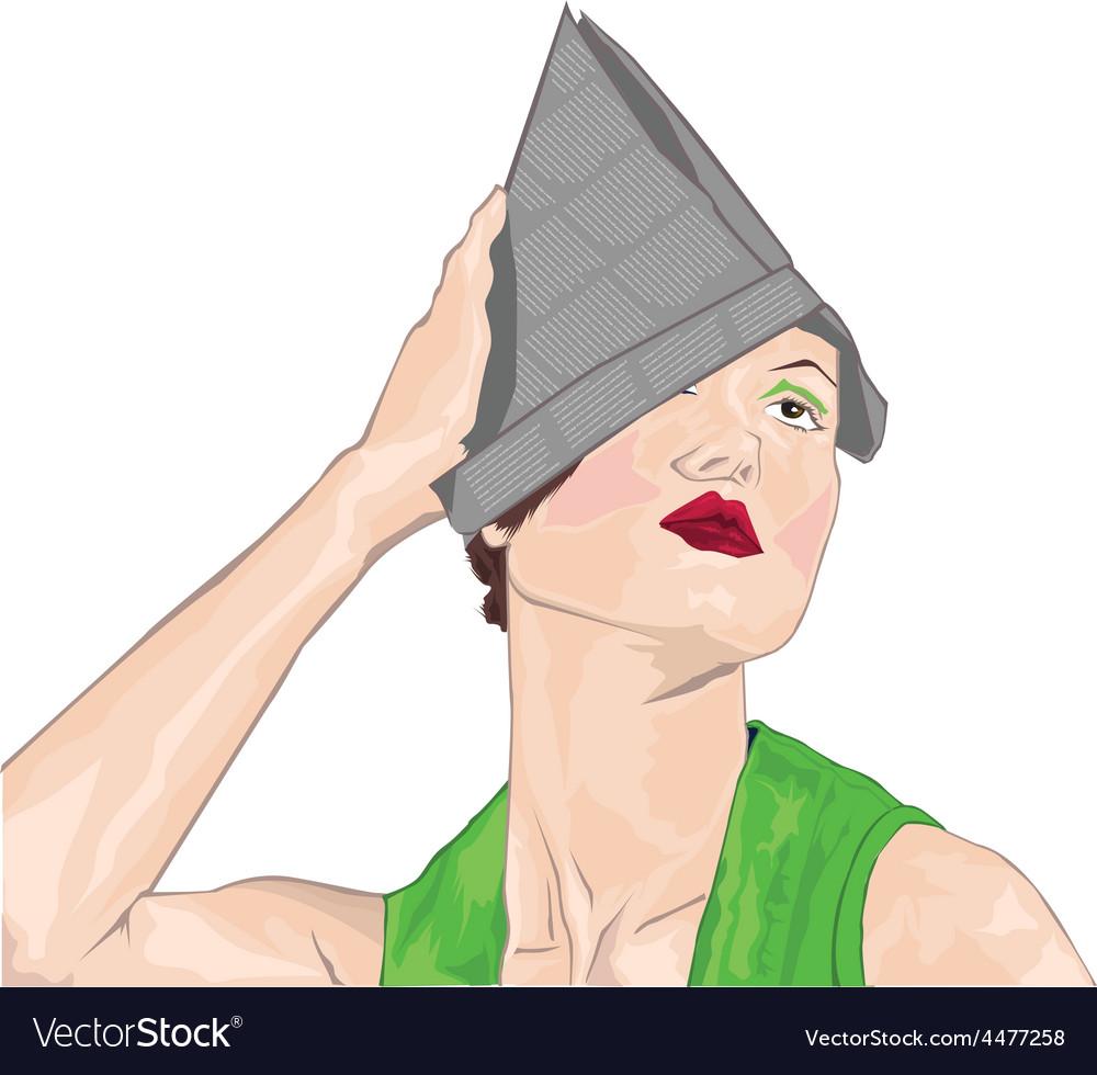 Woman vector | Price: 1 Credit (USD $1)