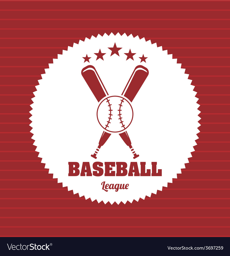 Baseball game vector | Price: 1 Credit (USD $1)