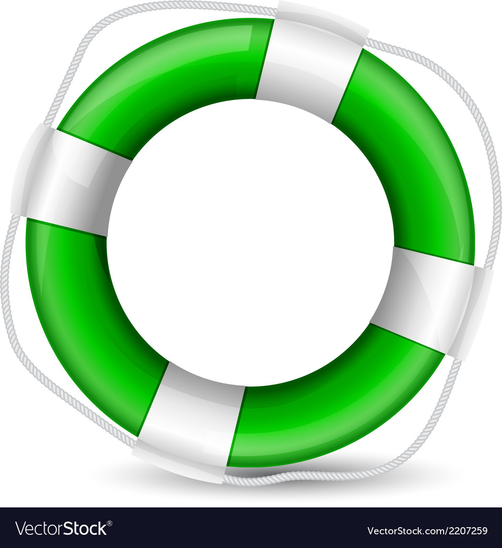 Green buoy vector | Price: 1 Credit (USD $1)