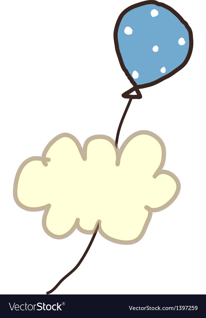Icon ballon vector | Price: 1 Credit (USD $1)