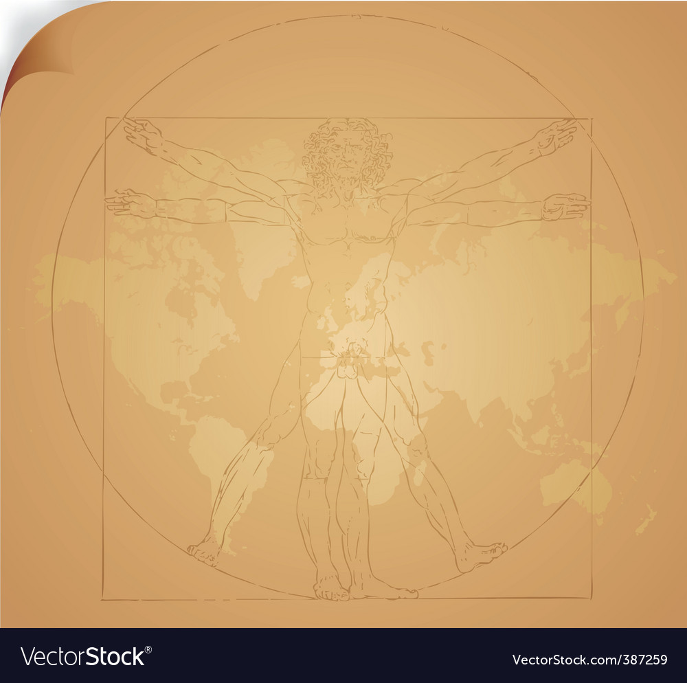 Leonardo da vinci art vector | Price: 1 Credit (USD $1)